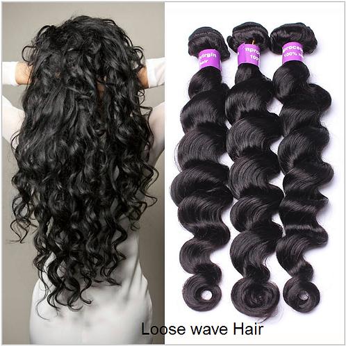 Three Bundle deal  - Loose Wave -100% Human hair