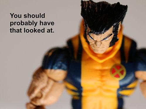 Potty Humor - Wolverine