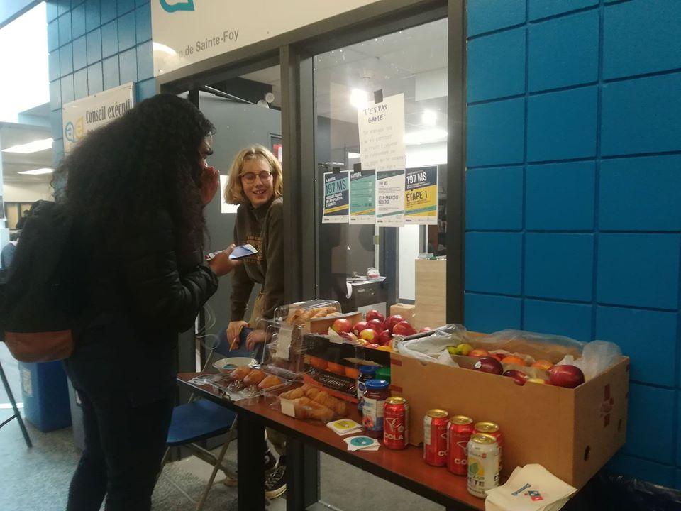 Où est notre argent mobilisation don de nourriture solidarité information sensibilisation 128