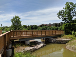 The Parkway Boardwalk and Bridge, Oakville