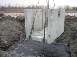 Cell One Water Control Structure Installation, Tommy Thompson Park