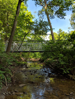 Wedgewood Creek Pedestrian Bridge, Oakville