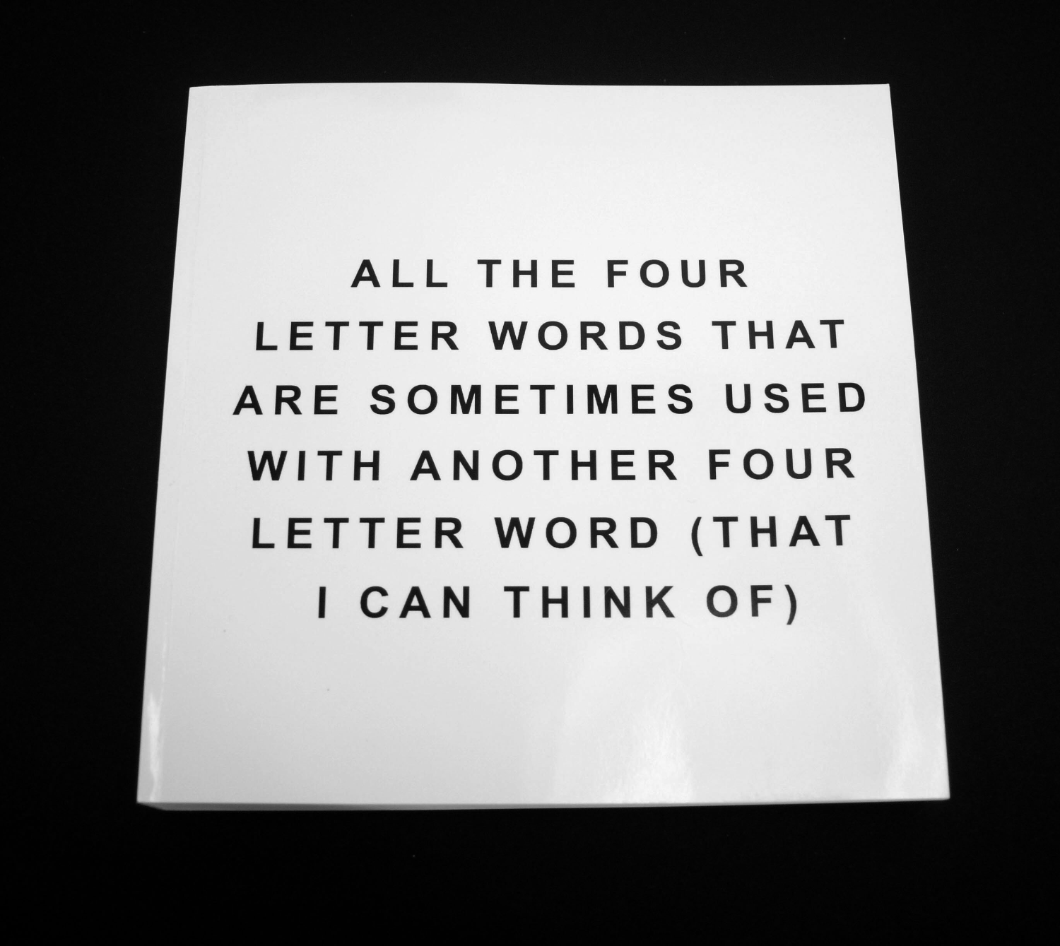 All the four-letter words