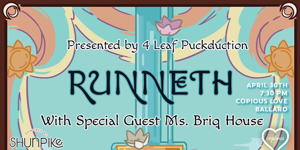 Runneth: A Beltane Cabaret