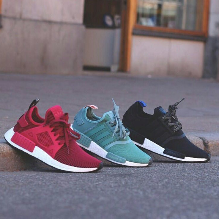 the best attitude f57f3 5a1a4 Adidas NMD R1 & XR1 Womens (Unity Pink, Vapour Steel, Collegiate Navy)