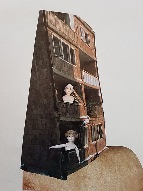 my head is a house
