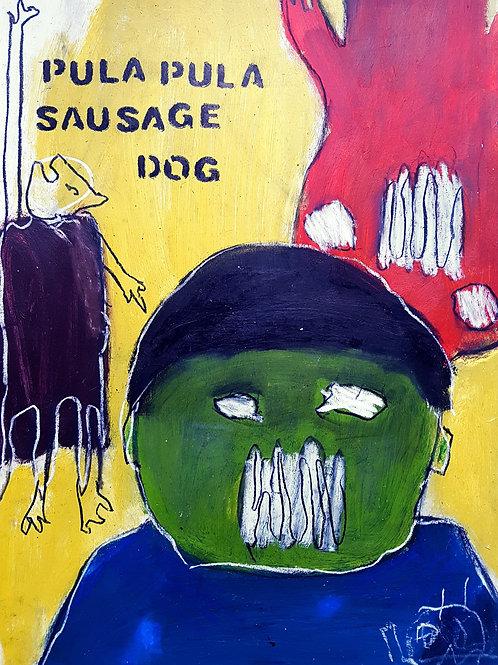 pula pula sausage dog