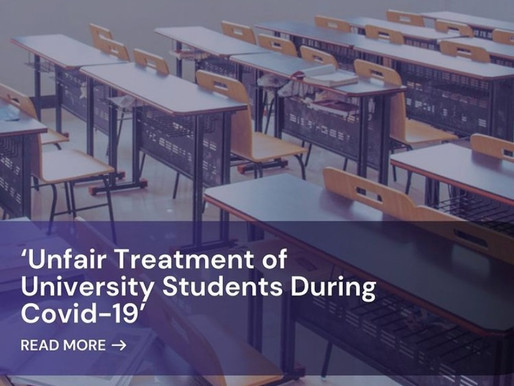 More on Current Affairs: UK Government's Unfair Treatment on University Students During Covid-19