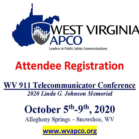 2020 - WV 911 Telecommunicator Conference