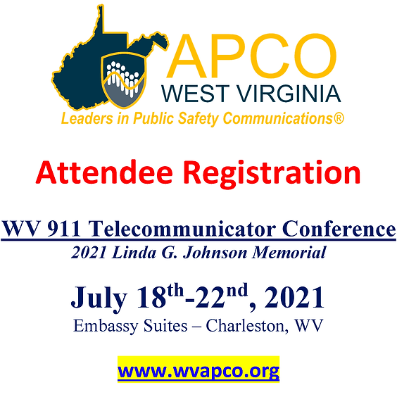 2021 - State 911 Conference - Attendee