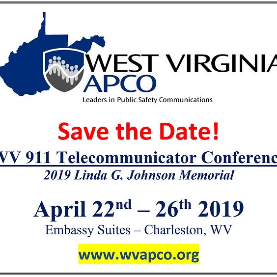 2019 WV APCO Telecommunicator Conference