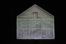 Projecting on the Bean Barn