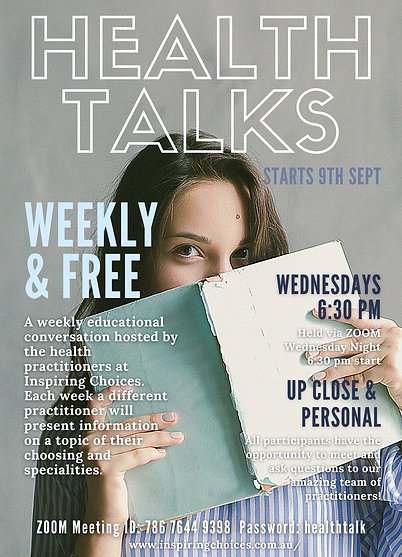 Weekly Health talk Flyer.png