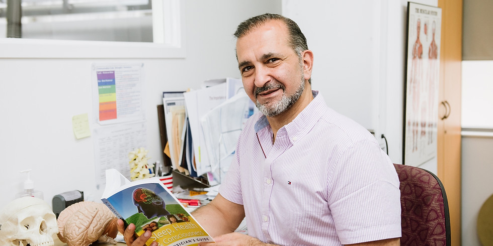 How to Win the battle against Pain, Fatigue and Inflammation. FREE Informational Talk by Dr Reza Samvat.