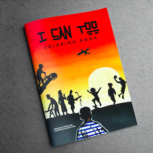 """I Can Too"" Coloring Book (Digital Copy)"