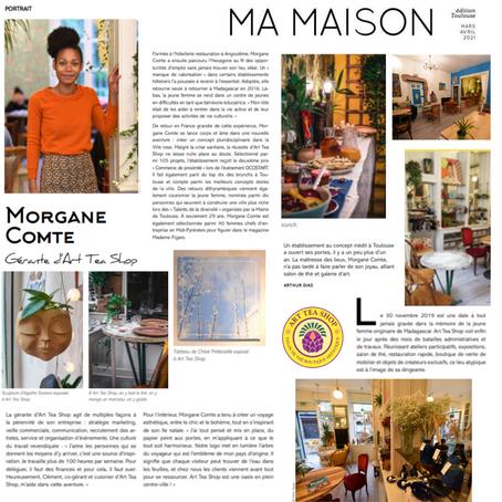 MA MAISON MAGAZINE : ARTICLE JOURNEE DE LA FEMME 2021 !