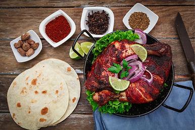 Tandoori Chicken wit Naan
