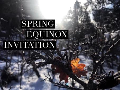Spring Equinox Reflection & Invitation