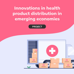 Innovations in health product distribution in emerging economies