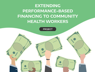 Extending performance-based financing to community health workers