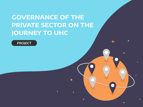 Governance of the private sector on the journey to UHC