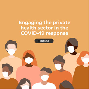 Engaging the private health sector in the COVID-19 response
