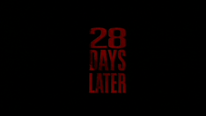 28 DAYS LATER - Production Service      2001