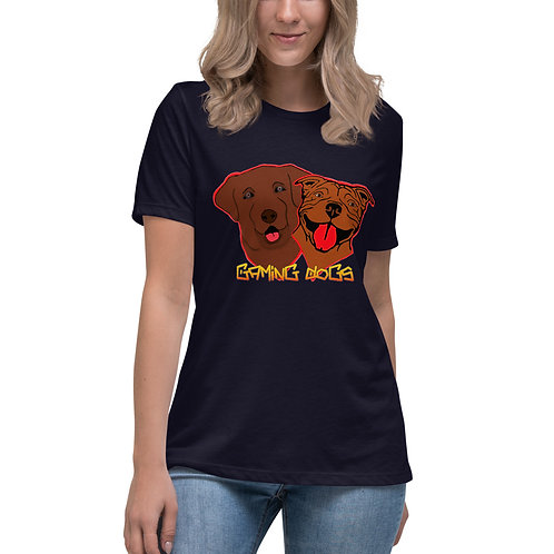 Gaming Dogs - Women's Relaxed T-Shirt