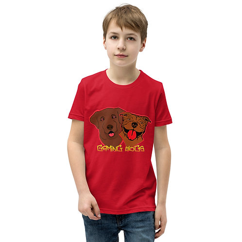 Gaming Dogs - Youth Short Sleeve T-Shirt