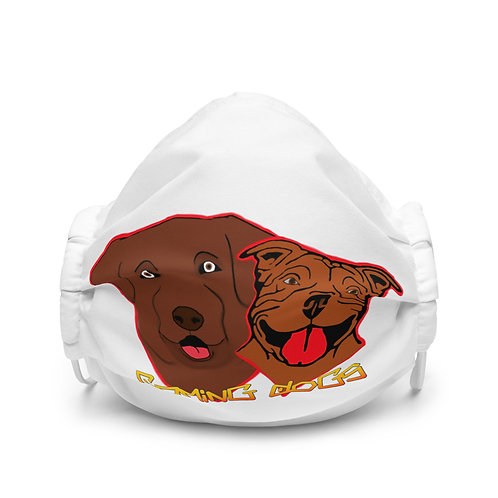 Gaming Dogs - Premium face mask