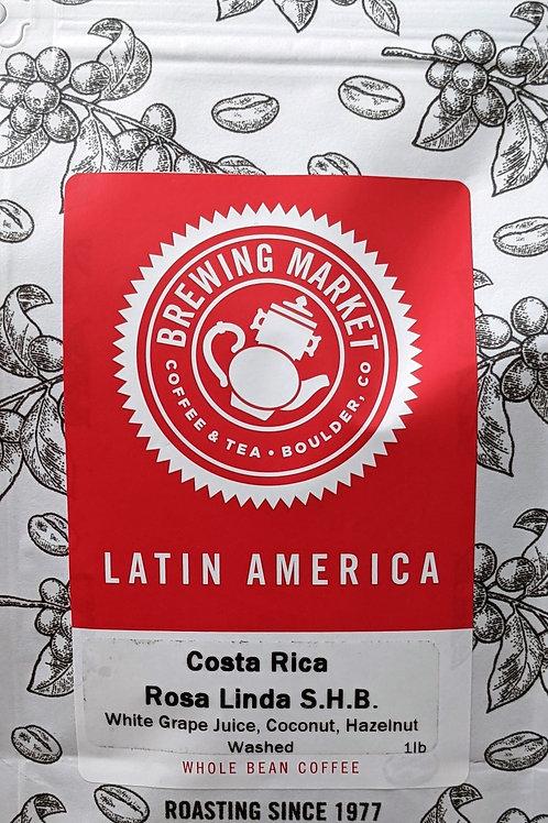 Costa Rica Finca Rosa Linda S.H.B. (Strictly Hard Bean) - 16oz