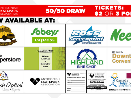 Get your 50-50 Tickets at these finer stores