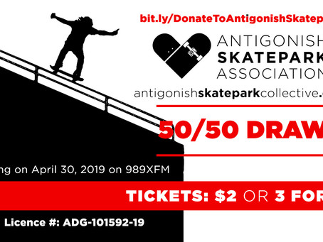 ASA April 50-50 Tickets ON SALE NOW!