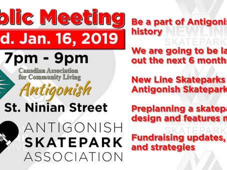 Be a part of Antigonish history.