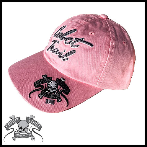 The Cabot Trail Biker Hat Pink