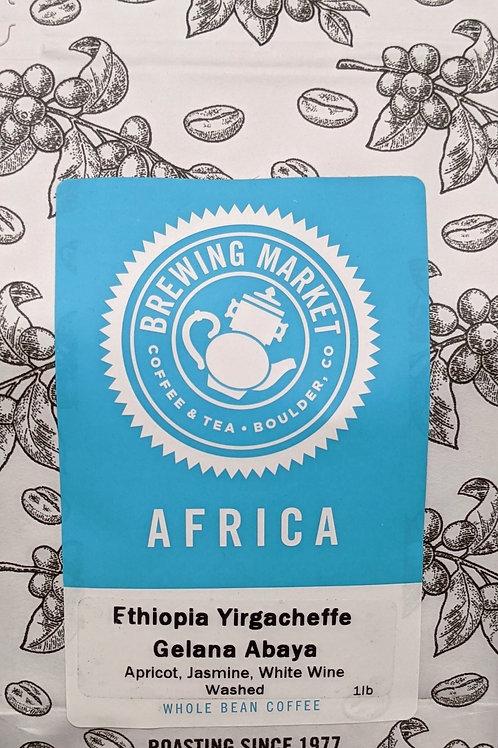 Ethiopia Yirgacheffe Gelana Abaya - 16 oz.