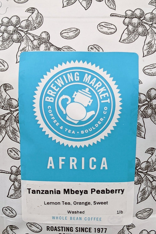 Tanzania Mbeya Peaberry - 16 oz