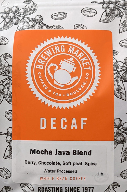 Decaf Mocha Java Blend - 16 oz