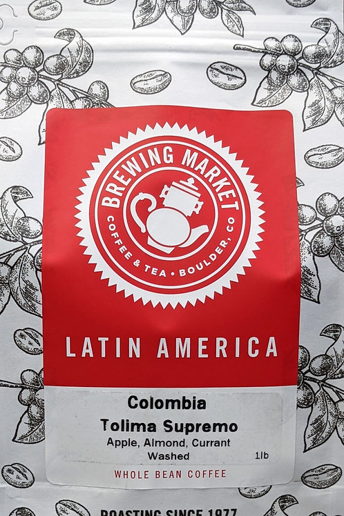 Colombia Tolima Supremo - 16 oz