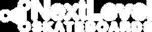 Next Level Skateboards Logo line logo wh