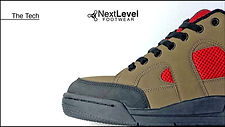 Next Level Footwear The Tech Tan Red Pro