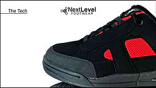 Next Level Footwear The Tech Black Red P