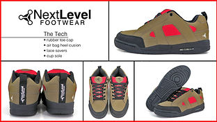 next level footwear coming soon the tech