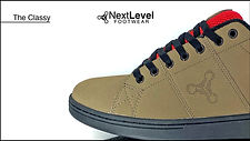 Next Level Footwear The Classy Tan Red P
