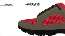 Next Level Footwear The apres tan red Pr