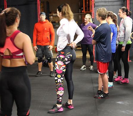 CrossFit Drøbak gjenomgang briefing sosial trening