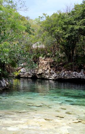 28 - Cenote Tankah - Tulum