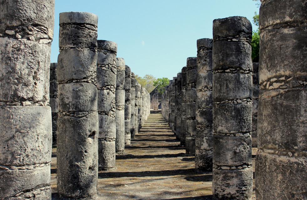 30 - Chichén Itzá - Temple aux milles colonnes