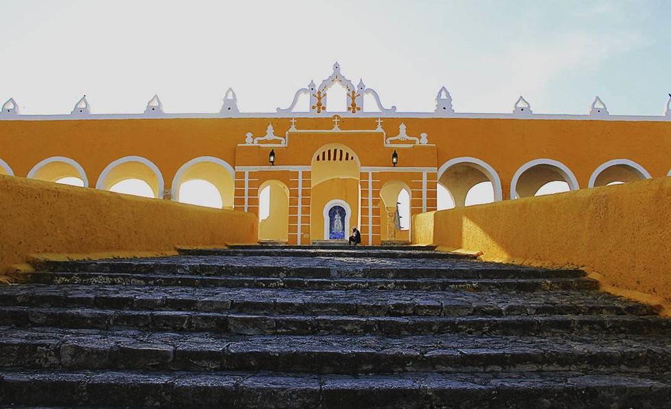 01 - Izamal, Ciudad Amarilla - Couvent San Antonio de Padua