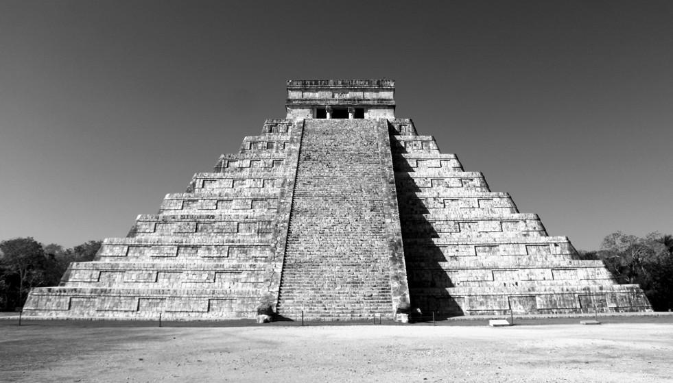 25 - Chichén Itzá - El Castillo - Kukulkán